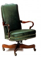 Swift Leather Swivel Chair