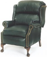 Ball & Claw Leather Recliner