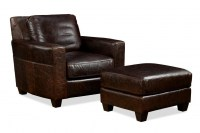 Marin Leather Chair & Ottoman