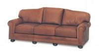 Hadlock Leather Sofa Sleeper
