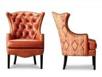 Maddox Tufted Leather Chair