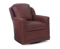 Althea Leather Swivel Chair