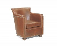 Silver Spring Leather Chair