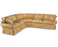Slipcover Leather Sectional
