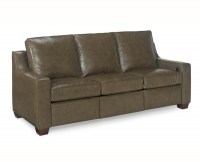 O'Reilly Motorized Reclining Leather Sofa