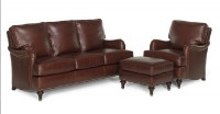 Kendall Leather Sofa Group