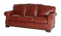Frazier Leather Sofa