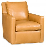 Jaxon Leather Swivel Tub Chair