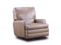 Carlos Leather Swivel Rocker Recliner