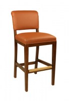 Isla Leather Barstool