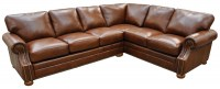 Bennet Leather Sectional