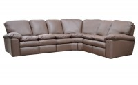 El Dorado Leather Reclining Sectional