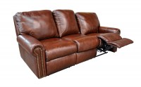 Fairmont Leather Reclining Sofa