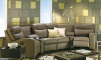 Glenlawn Leather Sectional