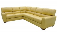 Jacob Leather Sectional Sofa