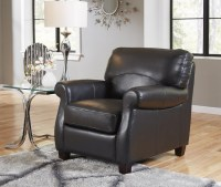 Carlisle Leather Chair In Black