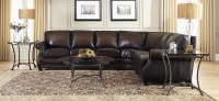 Prato Leather Sectional