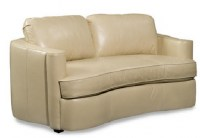 Taza Leather Loveseat