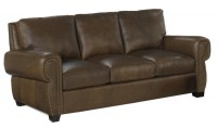 Wilco Leather Sofa Sleeper