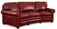 Kate Leather Conversation Sofa