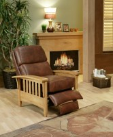Mission Leather Recliner
