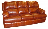 Newmans Leather Reclining Sofa