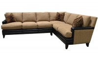 Glendora Leather/Fabric Sectional