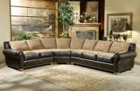 Vallarta Leather/Fabric Sectional