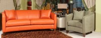 Park Place Leather Sofa Group
