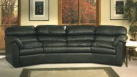 Phoenix Leather Conversation Sofa