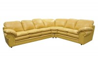 Santa Barbara Leather Sectional Sofa