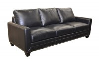 Sapphire Leather Sofa Group
