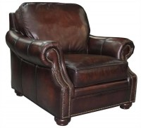 Herrigan Leather Chair & Ottoman