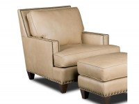Aspen Regis Leather Chair & Ottoman