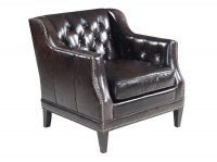 Balmoral Blair Leather Chair & Ottoman