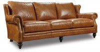 Combs Leather Sofa