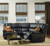 Tundra Leather Reclining Sectional