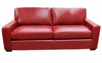 Twin City Leather Sofa
