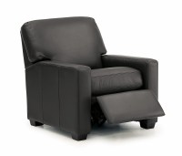 Westend Leather Pushback Chair
