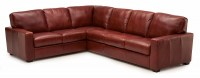 Westend Leather Sectional