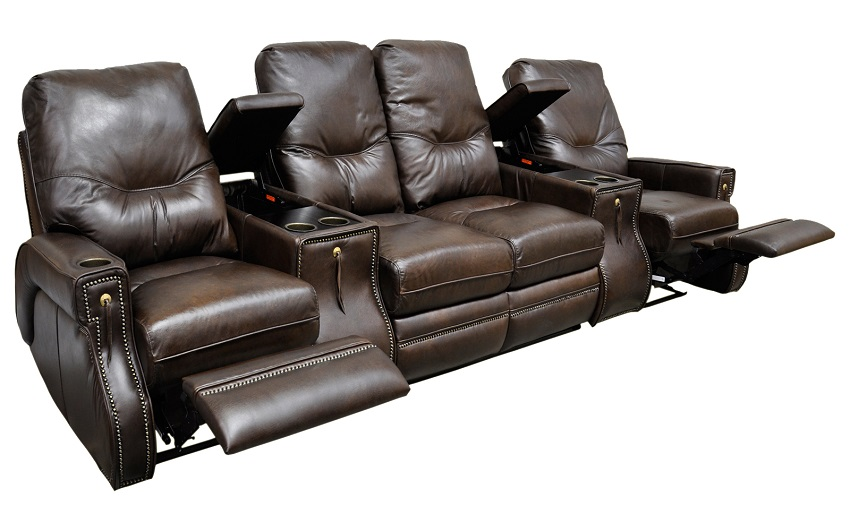 Leather Home Theater Seating Ride Motion Home Theater
