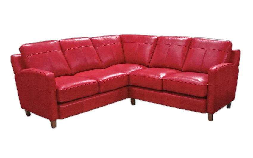 Skyline Leather Sectional