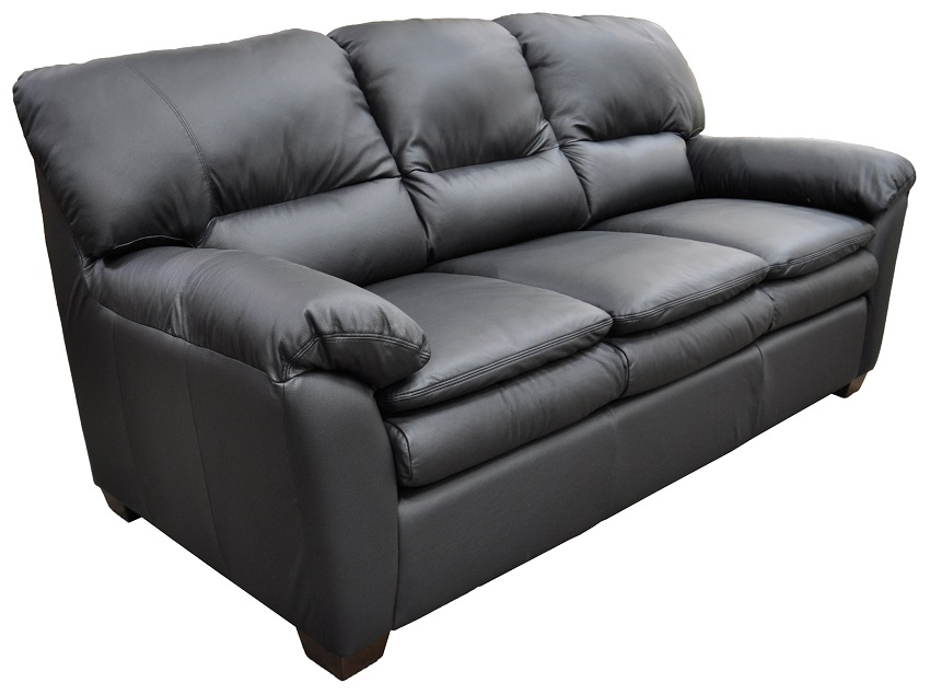 Vegas Leather Loveseat