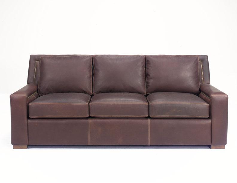 hanover leather sofa by wellington u0026 39 s heirloom collection