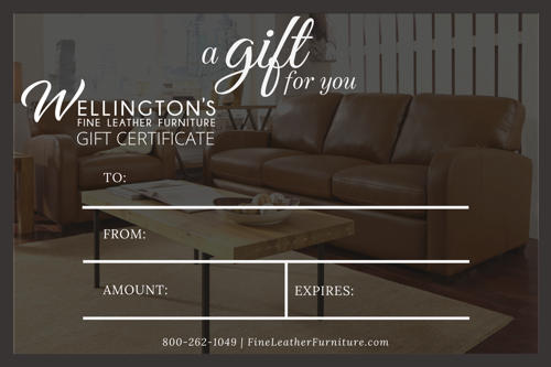 Leather Furniture Gift Card