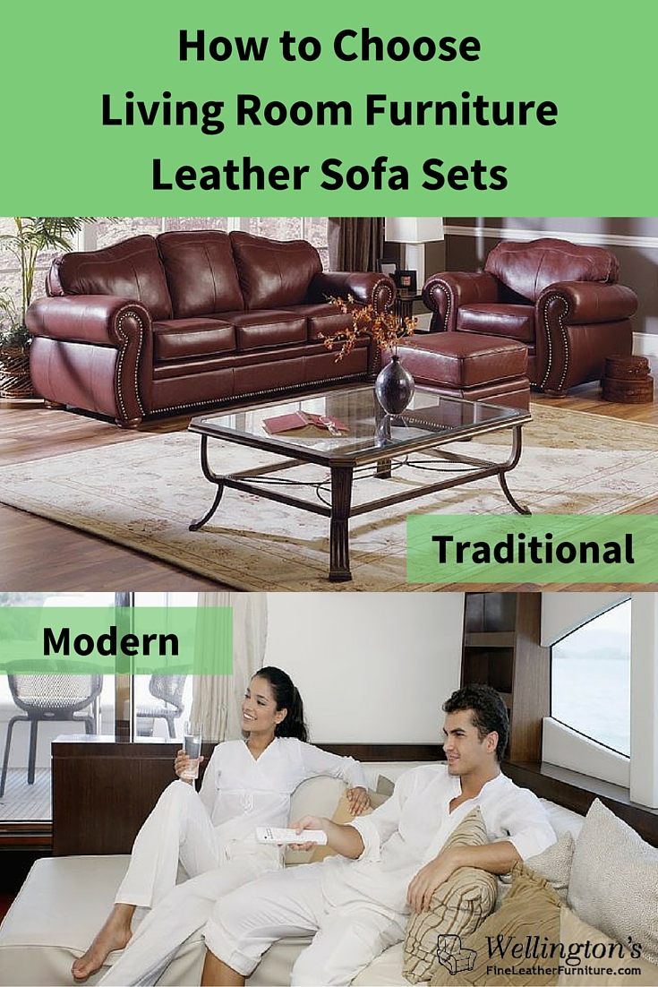 Traditional or Modern Leather Sofa Sets: How to Choose ...