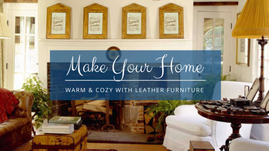 Make Your Home Welcoming and Cozy with New Leather Furniture