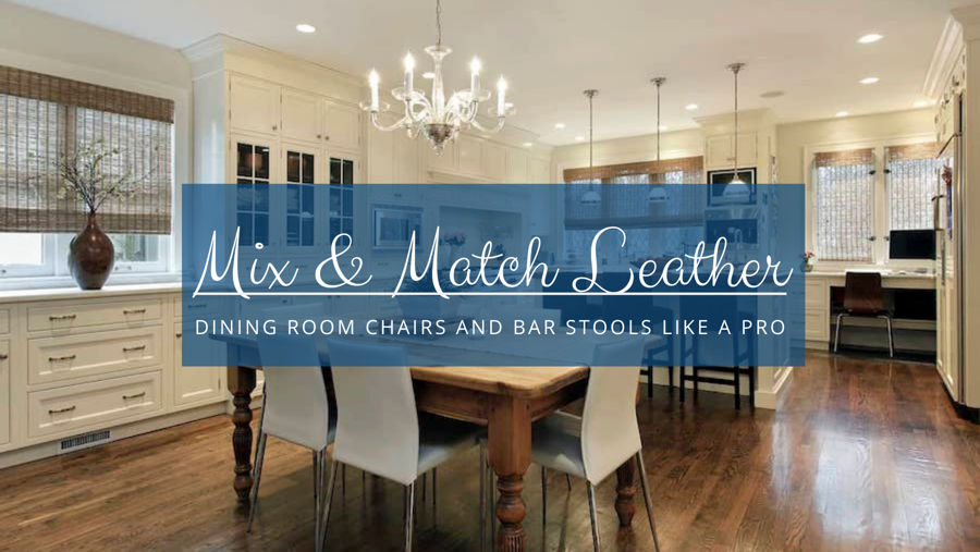 Leather Bar Stools and Chairs