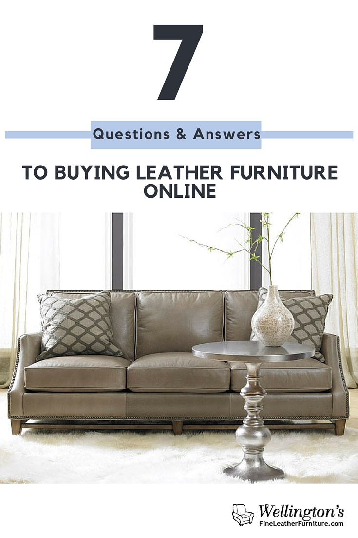 7 questions and answers to buying leather furniture online
