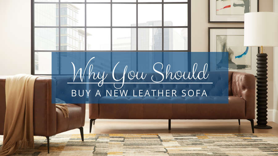Why You Should Buy A Leather Sofa